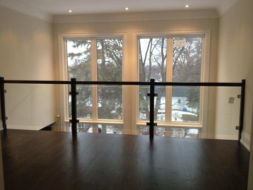 Custom Glass Railing And Shower Installations In The Gta