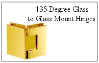 135 degree glass-to-glass mount hinge.