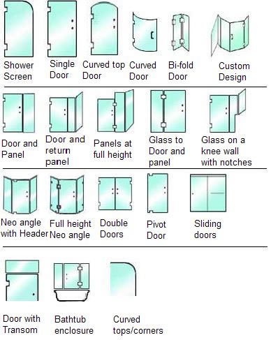 Open Glass Shower Idea Bathroom Shower Design Enclosure